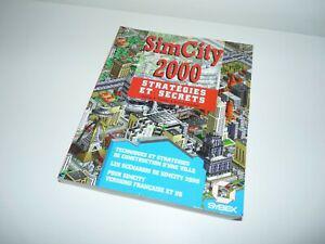 ancien livre guide manuel sim city 2000 stratégies et