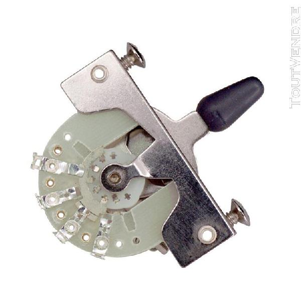 bouton noir de commutateur de tonalité de sélecteur de