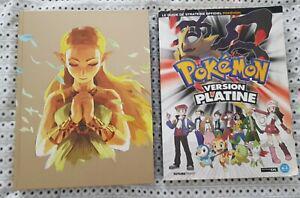 guide zelda breath of the wild/pokemon platine