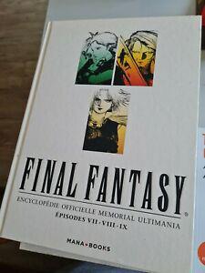 livre final fantasy encyclopédie officielle memorial