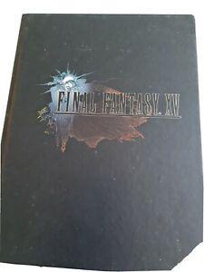 livre piggiback final fantasy 15 collector