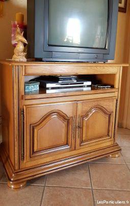 meuble de tele chêne clair
