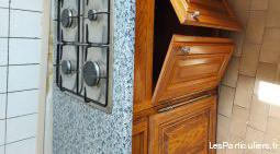 meubles cuisine et plaque