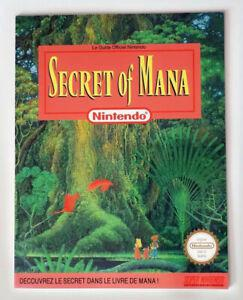 secret of mana - guide - super nintendo - snes