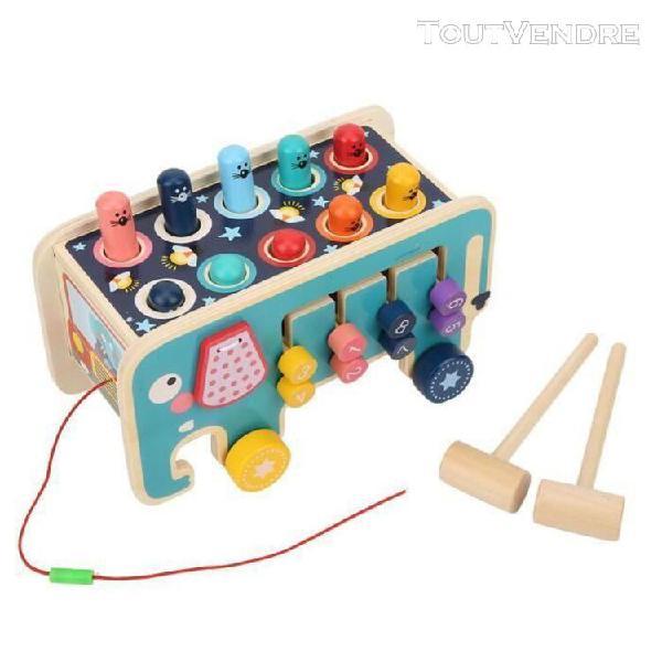 sonew jouet de martelage marteau en bois jouets couleur vive