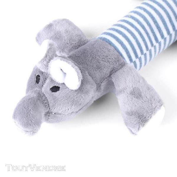 sonew jouet À mâcher grinçant 3 types de formes d'animaux