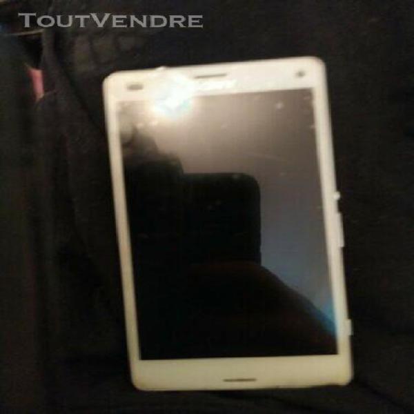 Sony xperia z3 compact blanc (vendu hs)