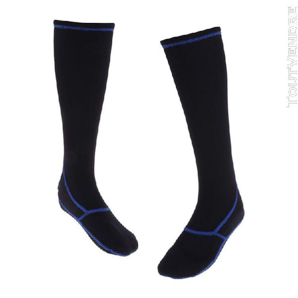 Sports nautiques 3 mm chaussettes de plongée en néoprène