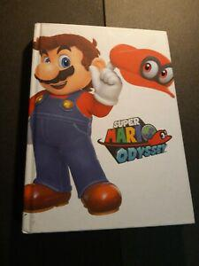 super mario odyssey guide officiel official uk collector