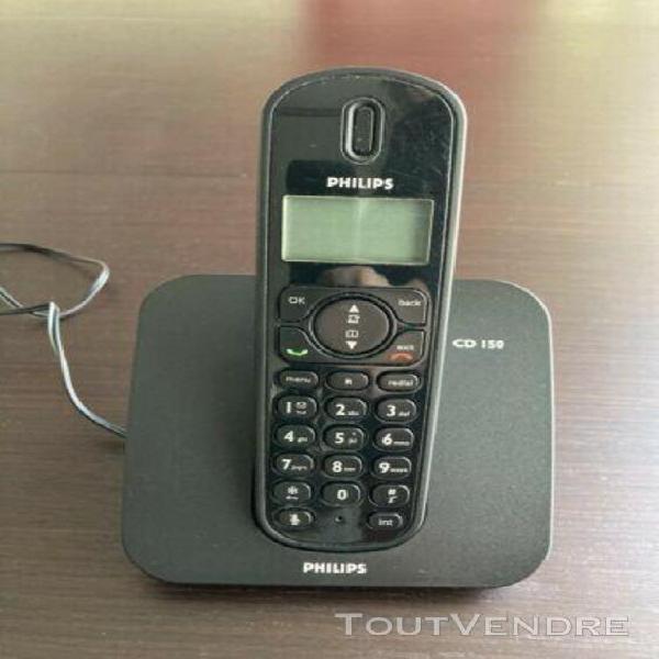 Téléphone fixe philips cd 150
