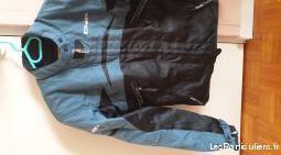 veste moto taille 40 (+ baskets taille 38)