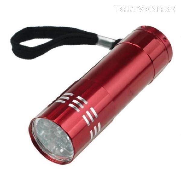Neuf petite lumière led étanche lampe de poche lampe b