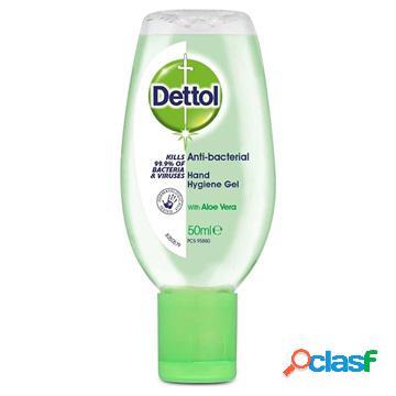 Gel nettoyant antibactérien dettol pour les mains - aloe vera - 50ml