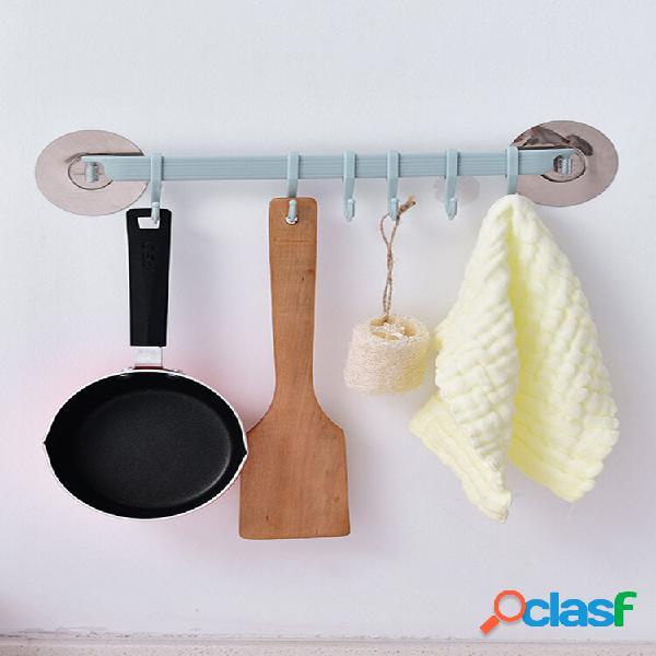 Crochet en pâte forte sans marquage crochet sans aiguille sur le mur de la salle de bain cuisine salle de bain
