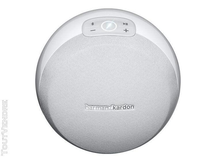 Harman kardon omni 10 blanc - enceinte hd bluetooth et wi-fi