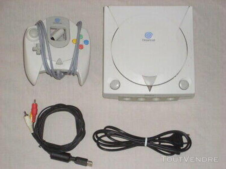 Console dreamcast euro pal with cables and controller