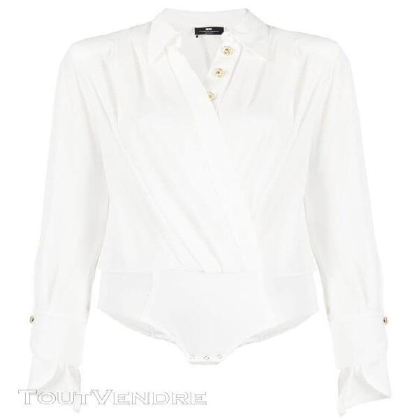 Elisabetta franchi femme cb01211e2360 blanc polyester body