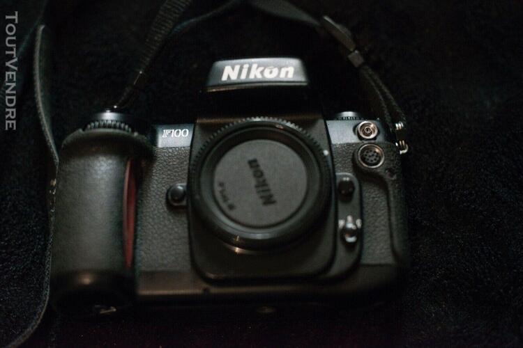 Nikon f100 appareil photo reflex - noir (boîtier)