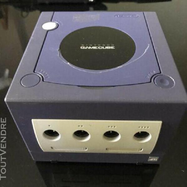 Nintendo gamecube violet / console seule sans cables sans ma
