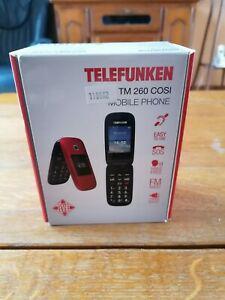 Téléphone mobile telefunken tm 260 cosi