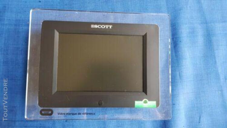 Cadre photo numérique scott pfx 78, neuf, dans son