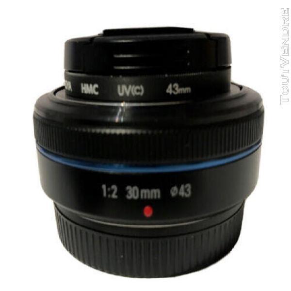 Objectif samsung nx 30mm f/2
