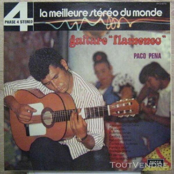 Paco pena 33 tours decca phase 4 stéréo guitare flamenco