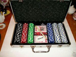 Malette de jetons de casino - neuve- malette métal - jetons