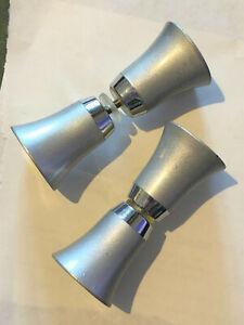 Boutons poignées de porte vitrée façon métal couleur