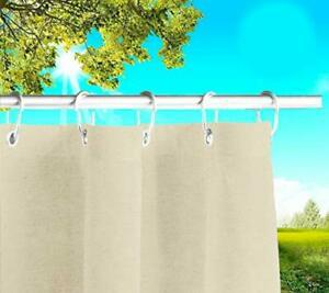 Byour3®️ rideau extérieur imperméable avec oeillets