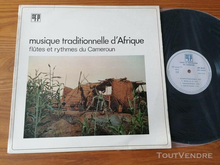 Cameroun: musique traditionnelle afrique /c.fonfrede lp s