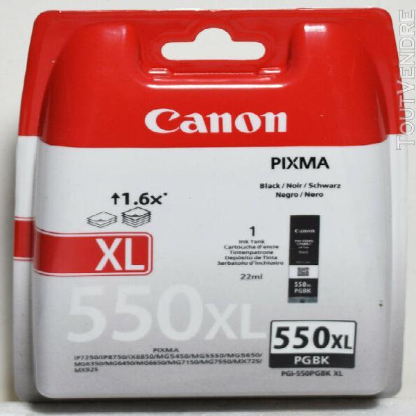 Matériel informatique canon pgi-550xl cartouche bk noire xl