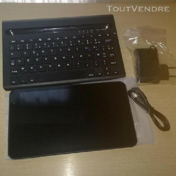 Tablette neuve et clavier couleur noire 8 pouces marque klip