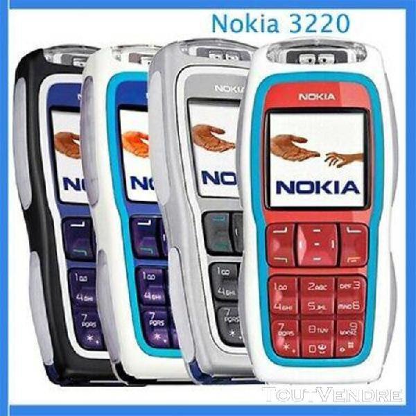 3 x nokia 3220 hors service sans batterie sans chargeur