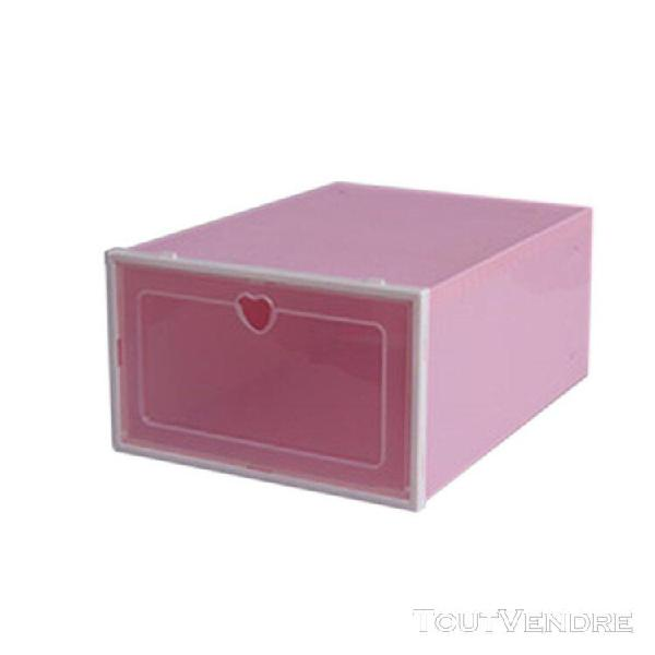 Petite boîte de rangement chaussures tiroir chaussure