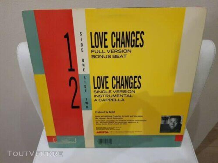 12' maxi usa kashif meli'sa morgan: love changes