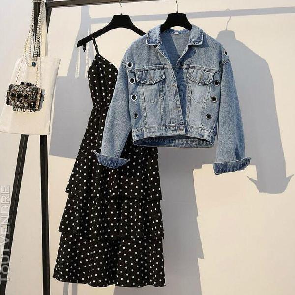Ensemble de vêtements pour femmes, style court, grande