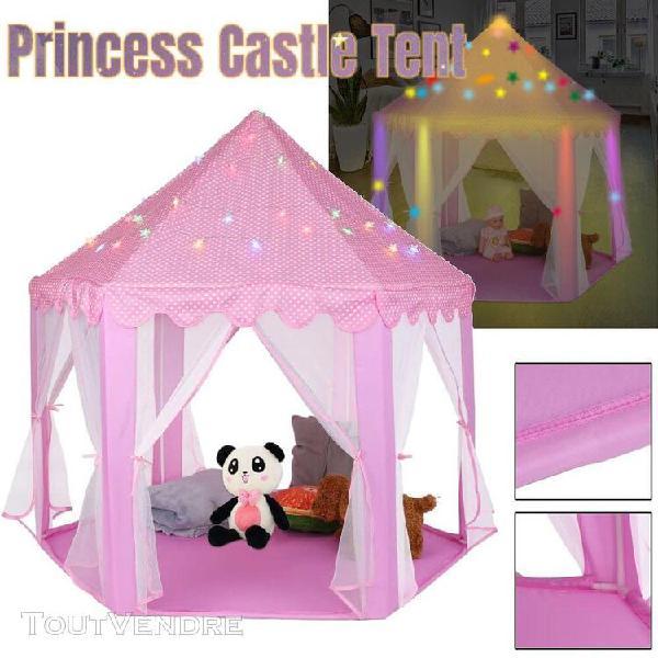 Tente de jeu, avec filet,tente princesse chateau de