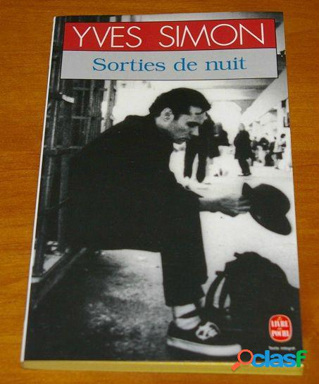 Sorties de nuit, Yves Simon
