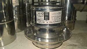 Adaptateur tubage double parois à simple parois d 130 dinak