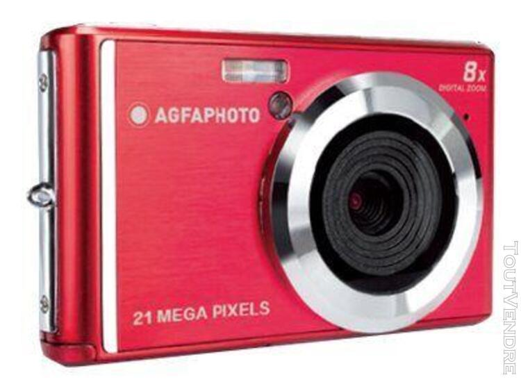 Appareil photo compact agfaphoto dc5200 rouge compact - 21.0