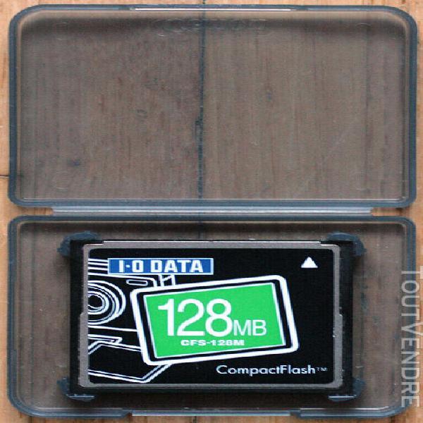 I•o data cfs-128m • carte compact flash • compact