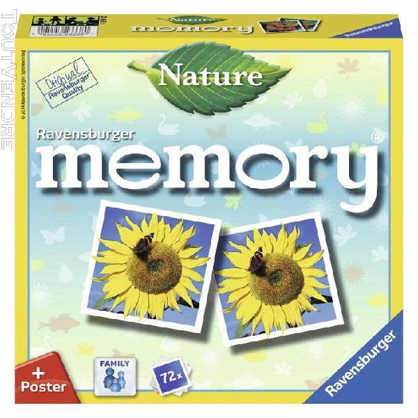 Jeux de cartes ravensburger natur memory®(spiel) 4591