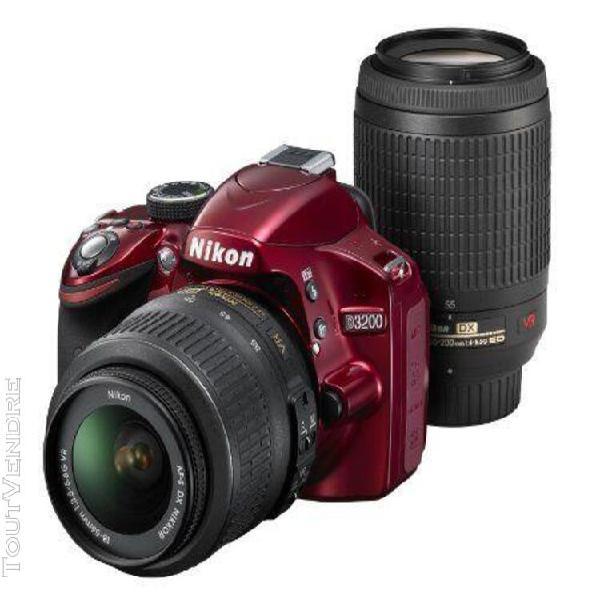 Nikon appareil photo reflex mono-objectif numérique d3200