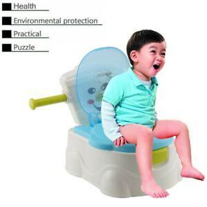Pot pour bébé toilette enfant siège cabinet ludique
