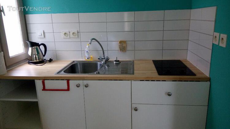 Location t1 meublé - 25 m² - quartier porterie - location