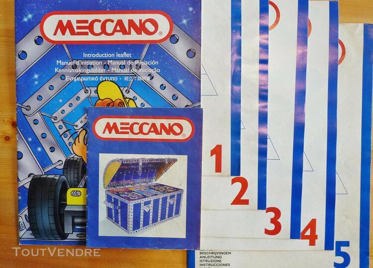 Meccano fascicules jouets de construction