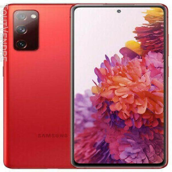 Samsung galaxy s20 fe 5g 128go cloud red reconditionné