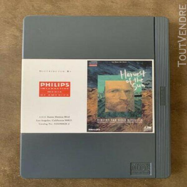 Cdi philips vincent van gogh- version grande box - testé