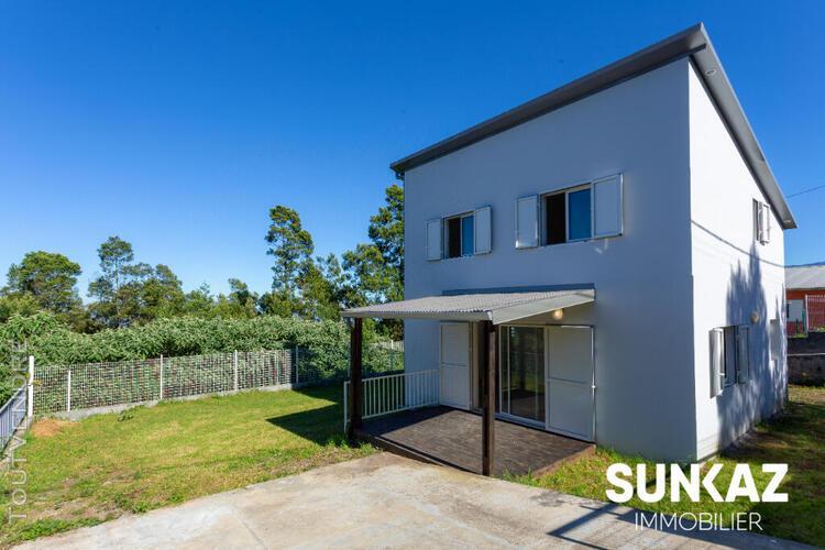 Maison f4 neuve en duplex de 100 m²à la plaine des cafres